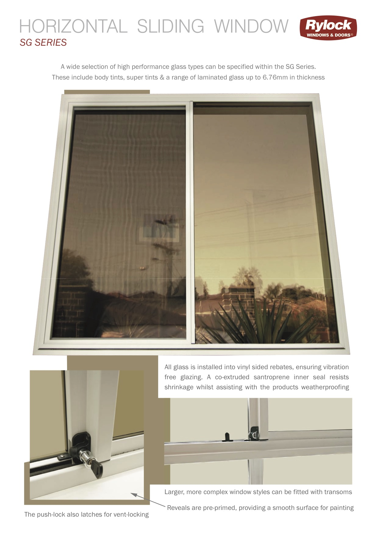 Sg Series Single Glazing Windows Single Glazing Doors